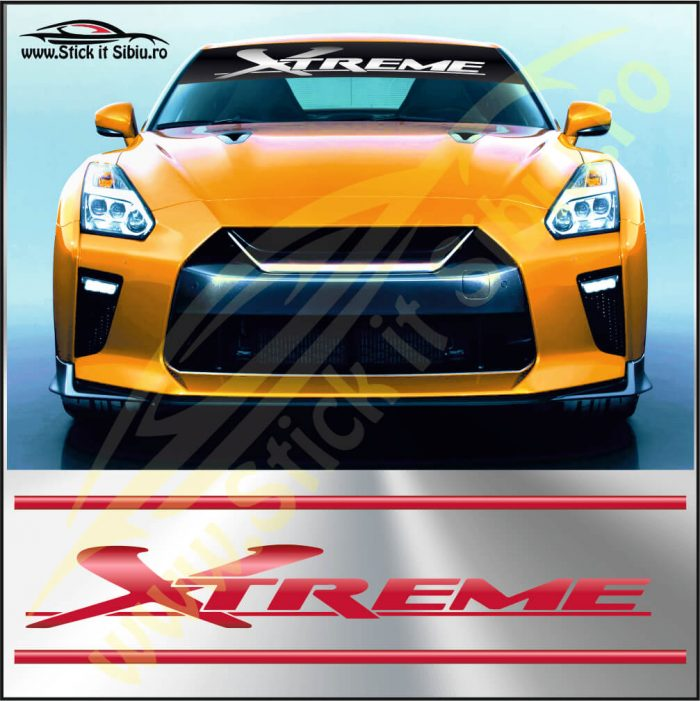 Parasolar Xtreme - Stickere Auto