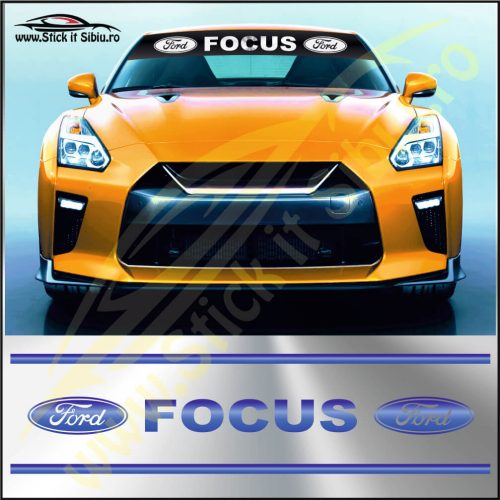 Parasolar Ford Focus - Stickere Auto