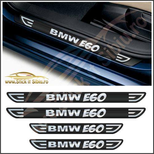 Set Protectie Praguri BMW E60-Model 1 - Stickere Auto