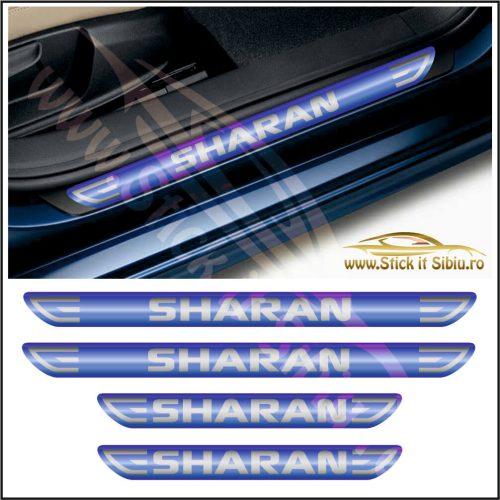 Set Protectie Praguri Volkswagen Sharan-Model 1 - Stickere Auto