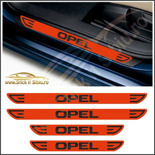 Set Protectie Praguri Opel-Model 1 - Stickere Auto