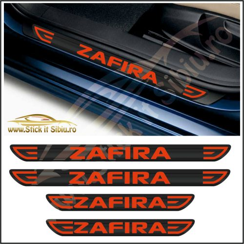 Set Protectie Praguri Opel Zafira-Model 1 - Stickere Auto
