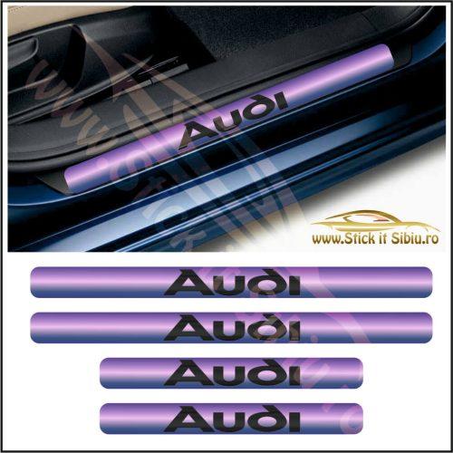 Set Protectie Praguri Audi-Model 9 - Stickere Auto