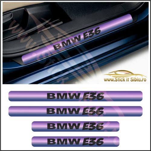 Set Protectie Praguri BMW E36-Model 9 - Stickere Auto