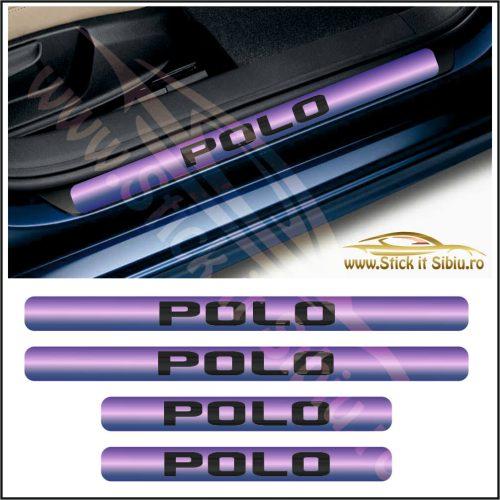 Set Protectie Praguri Volkwagen Polo-Model 9 - Stickere Auto