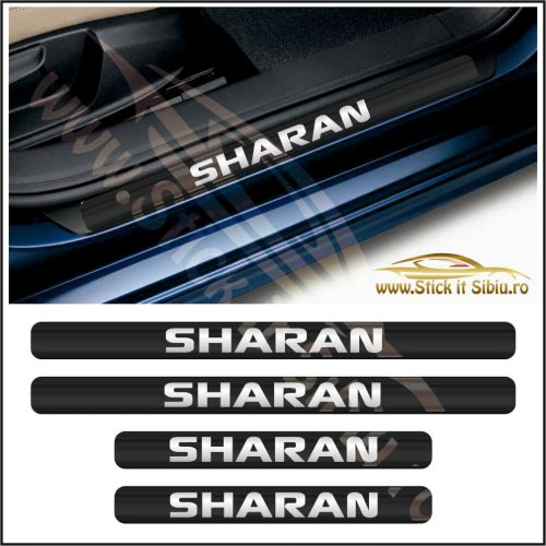 Set Protectie Praguri Volkwagen Sharan-Model 9 - Stickere Auto
