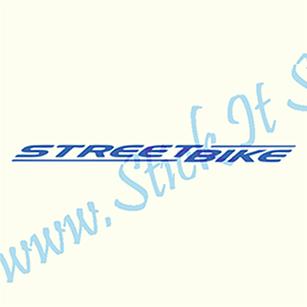 StreetBike-Sticker Bicicleta