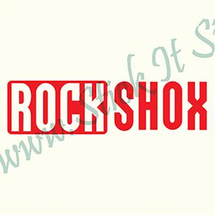 Rock Shox-Model 1- Sticker Bicicleta