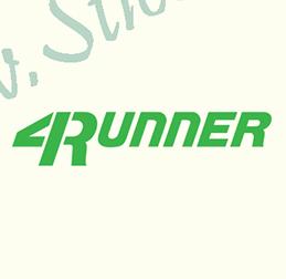 4 Runner - Stickere Auto