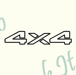 4x4-Model 2 - Stickere Auto