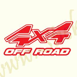 4x4 Off Road - Stickere Auto