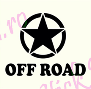 Off Road Star - Stickere Auto