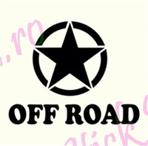 Off Road Star - Stickere Auto