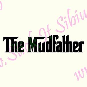 The Mudfather-Model 2 - Stickere Auto