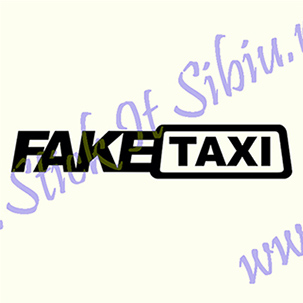 Fake Taxi - Stickere Auto