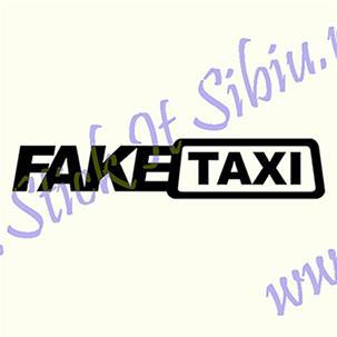 Fake Taxi - Stickere Auto