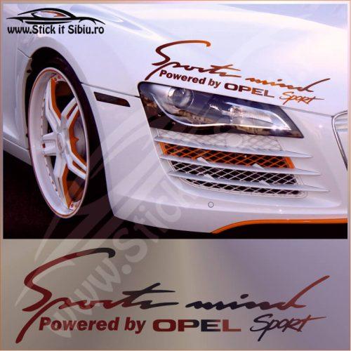 Sticker Far-Sports Mind-Opel - Stickere Auto