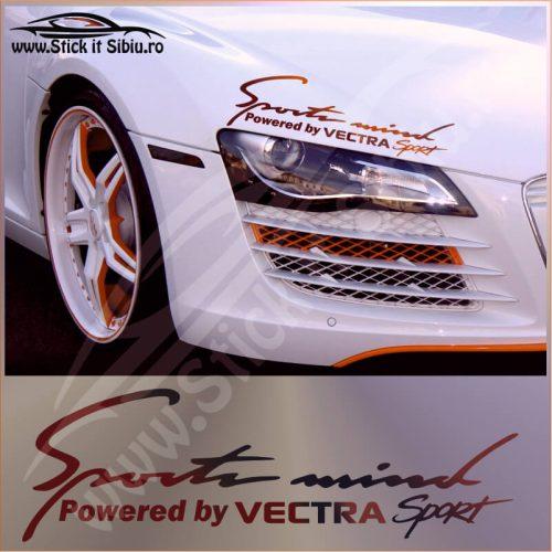 Sticker Far-Sports Mind-Opel Vectra - Stickere Auto