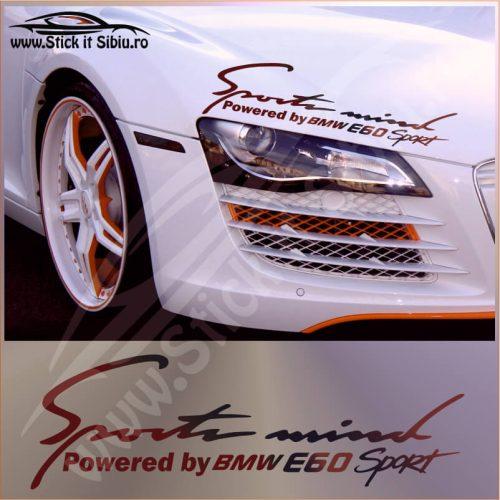Sticker Far-Sports Mind-BMW E60-Model 1 - Stickere Auto