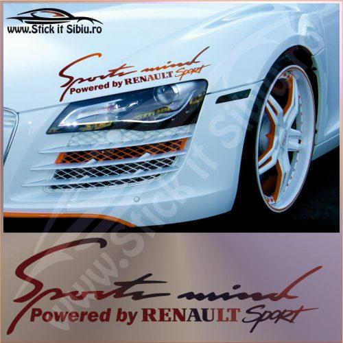 Sticker Far-Sports Mind-Renault - Stickere Auto