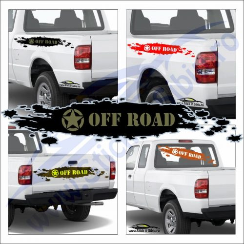 Us Star Off Road - Stickere Auto