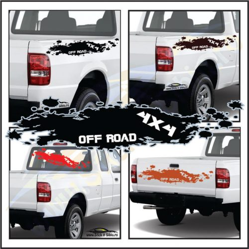 4X4 Off Road Model 1 - Stickere Auto