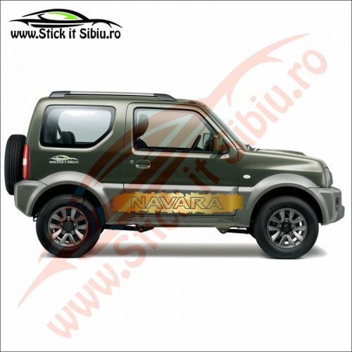 Sticker Splash Off Road Nissan Navara - Stickere Auto