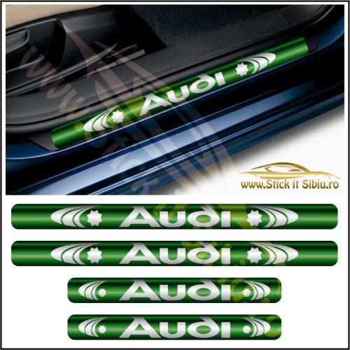 Set Protectie Praguri Audi-Model 3 - Stickere Auto