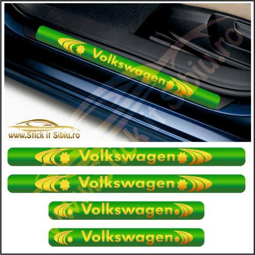 Set Protectie Praguri Volkswagen-Model 3 - Stickere Auto