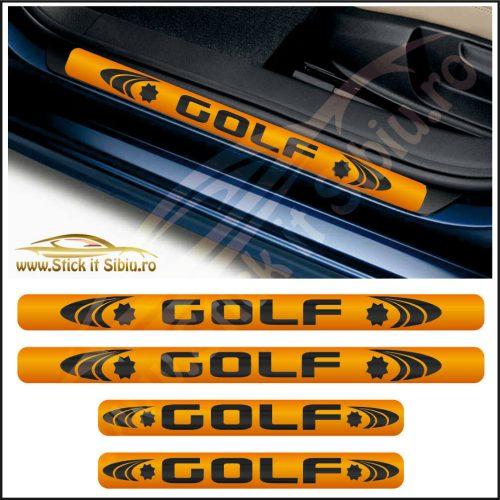 Set Protectie Praguri Volkswagen Golf-Model 3 - Stickere Auto