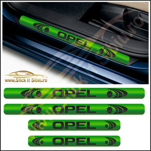 Set Protectie Praguri Opel-Model 3 - Stickere Auto