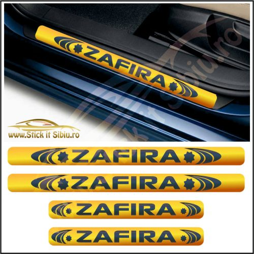 Set Protectie Praguri Opel Zafira-Model 3 - Stickere Auto