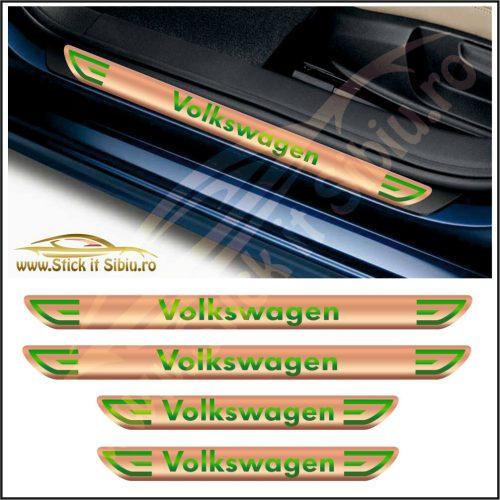 Set Protectie Praguri Volkswagen-Model 4 - Stickere Auto