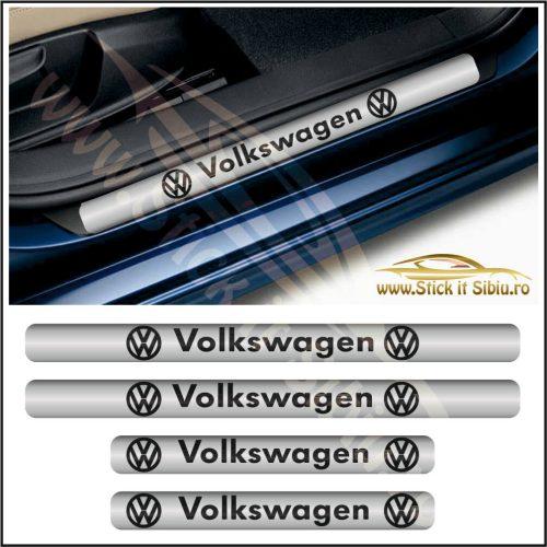 Set Protectie Praguri Volkswagen-Model 5 - Stickere Auto