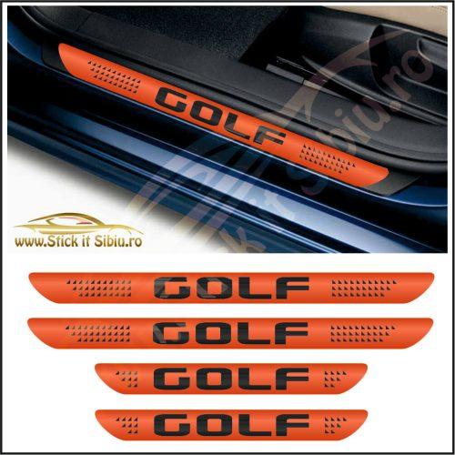 Set Protectie Praguri Volkswagen Golf-Model 6 - Stickere Auto