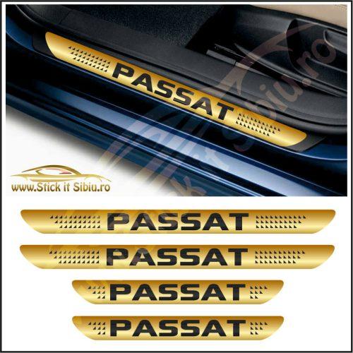 Set Protectie Praguri Volkswagen Passat-Model 6 - Stickere Auto