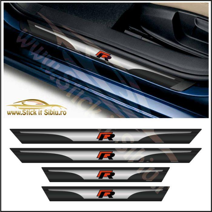 Set Protectie Praguri Volkswagen R line - Stickere Auto
