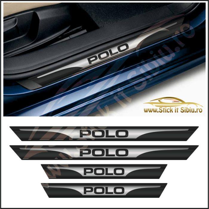 Set Protectie Praguri Volkswagen Polo - Stickere Auto