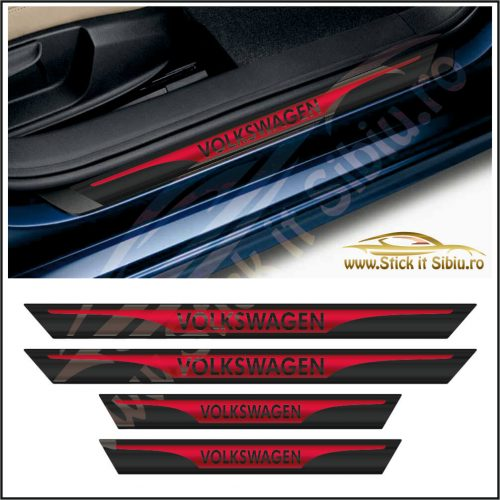 Set Protectie Praguri Volkswagen - Stickere Auto
