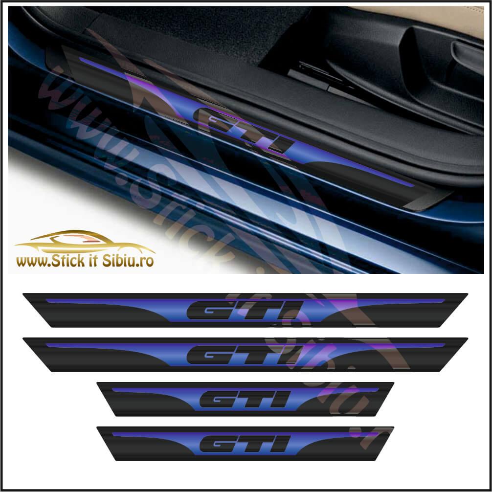 Set Protectie Praguri Volkswagen Golf GTI - Stickere Auto