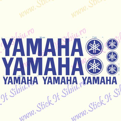 Yamaha Set-Model 2 - Stickere Auto - Moto