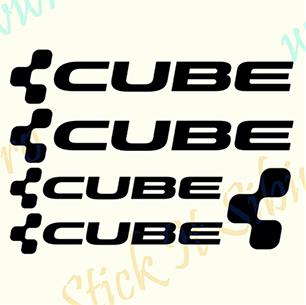 Set Cube-Model 2 - Stickere Bicicleta
