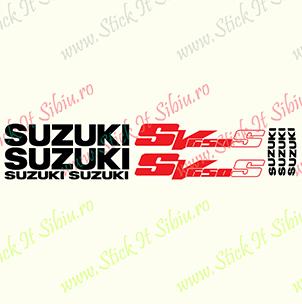 Suzuki SV 650 S - Stickere Auto