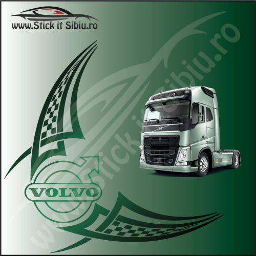 Stickere Geam TIR-Camion Volvo Model 25 - Stickere Auto