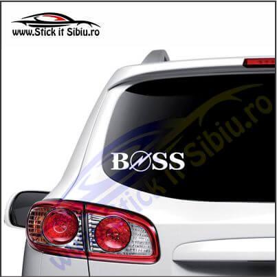 Boss Opel - Stickere Auto