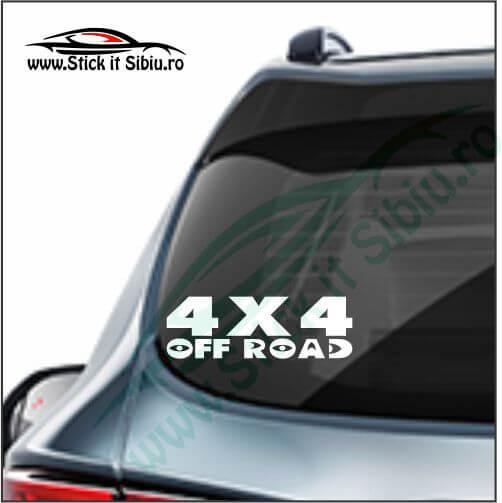 4x4 off road Mode 21 - Stickere Auto