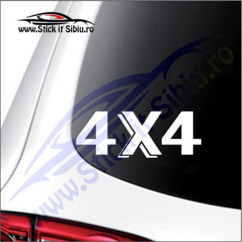 4x4 Model 21 - Stickere Auto