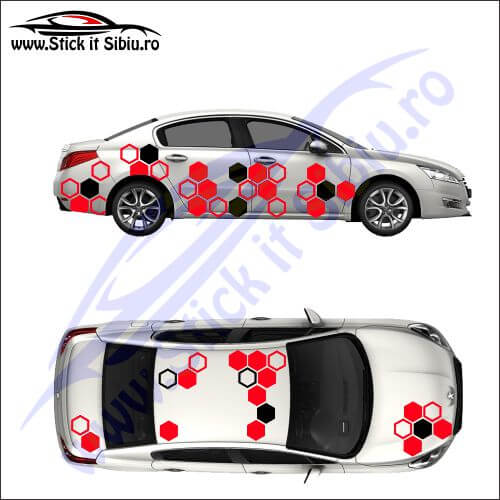 Camuflaj Honeycomb DUO - Stickere auto
