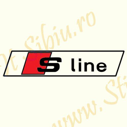 Audi S-line - Stickere Auto