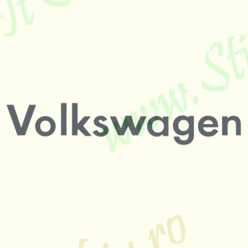 Volkswagen Logo-Model 2 - Stickere Auto